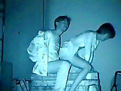 Infrared sexuales la cámara mirón banca del parque