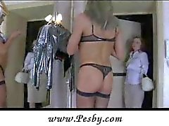 Sissy crossdresser gets strapon fucked