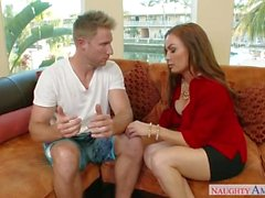 Mature MILF Diamond Foxxx, Marsha May Adorable Step Mom loves Sons Hard Coc