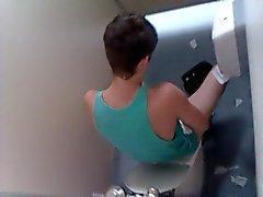 пойман туалетной придурок