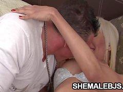 Danielle A Messy Blowjob Scene