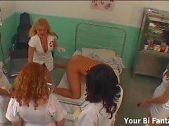 Вы когда-нибудь были привязаны медсестрой до