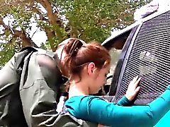 Zierlich mexikanischen Teen beim Überschreiten der border rigoros gefickt