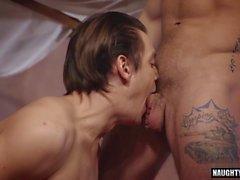 tattoo gay domination and cumshot segment