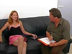 Frans Amateur Girl Anal Audition