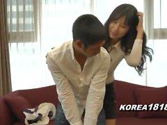 Корейский порно MILF Соблазненный и сексуальная