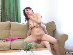 étudiant allemand Castings réel porno Première