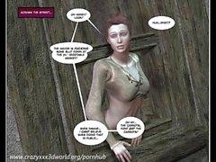 Fumetti immagini 3D : The Wandering la principessa . episodi Riassunto entro 1-2