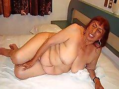 Роговой Мексика Grannies а ее удивительной Голое тело
