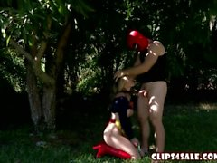 Cory Chase in Super Gurl Destroyed by DeadPool