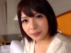 Hot Japanese Babe Doing Solo Onani