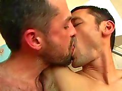 Thin macho sex (with sweet kiss)