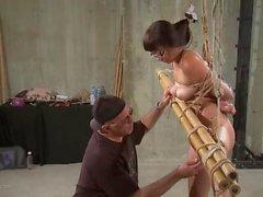 Nyssa Nevers Extreme BDSM Punishment - The Bamboo Prison
