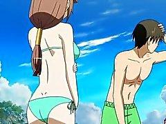 Hentai bambino in bikini a fa scopare