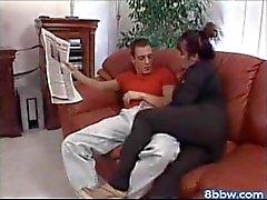 Tabea - di Kinky matura Brunetti scopa in divano del - 8bbw