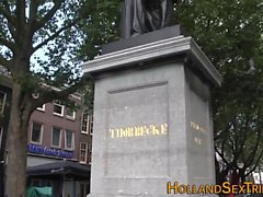 Gerçek Hollandalı fahişe raylı