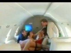 Des rapports sexuels en l'avion