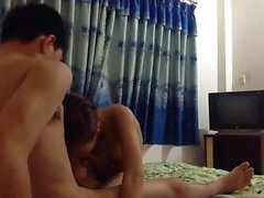 Vietnamese couple fucking