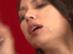 Premium Asian group sex along busty Maria Ozawa