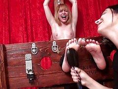 Di Stella sexy che Topless di e torturato