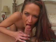 Carmella Bing big tits blowjob