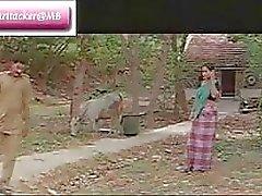 Klasik Indian mallu film Demiryolu Bölüm 1 güzel bir göğüslerin