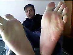 Heterosexuales pies en la webcam # doscientas cuarenta y cuatro