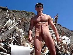 Caldo Grandi di Dick At The Beach