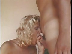 Outdoor rimming & ass screwing with blonde hotty