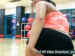 Bailey Ftv girls the gym and ends up flashing everywhere