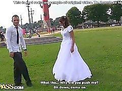 Raue anal fucking Orgie auf Hochzeit