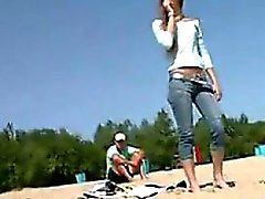 Russian Girls Naked At The Beach