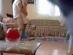 niña árabe jodido por el vecino de espionaje de leva