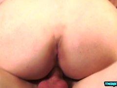 Hot twinks bareback with cumshot