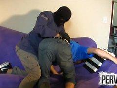 Masked Intruder Gives Hard Wedgies JESSIE COLTER TRISTAN