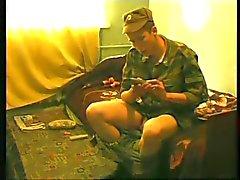 Юные русские солдаты тратьте время попусту а Сперма