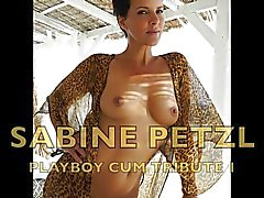 Sabine Petzl German Playboy Milf cum tribute