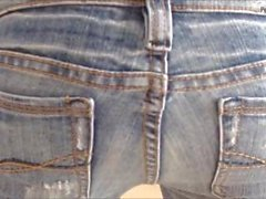 Alexa rumbling jeans