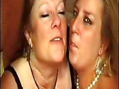 RANSKAN TÄYSIKASVUINEN anaali bbw äiti interracial pa