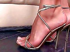 Les filles et Sex Feet belle La compilation