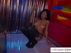 The Stripper Experience - Anya Ivy wird von einem großen Schwanz, großer Beute bestraft