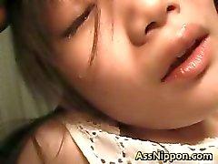 Asami de Fujimoto asiática encantadora muñeca de disfruta