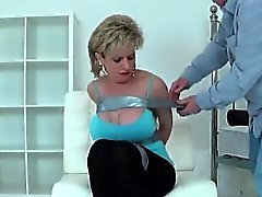Unfaithful british milf lady sonia pops out her big knockers