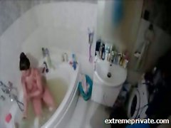 Ihr Mum nicht bewusst versteckte Kamera in bathroom