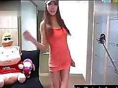 Sexy Koreaans webcam meisje dansen