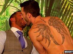Latin Homosexuell Analsex und Cumshot