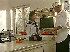 Préparation de de cuisine Schoolgirls