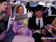 Orgy in der Limousine