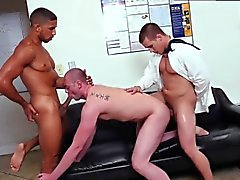 Straight guys cum together video gay Pantsless Friday!
