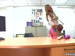 Big titted milfy woman Esperanza Gomez gets down and dirty